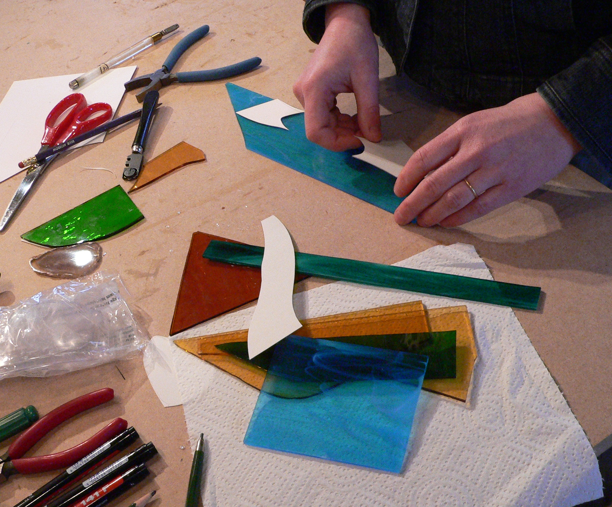 Weekly Stained Glass Workshop